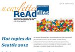 Newsletter - Numero 4 - 2012