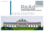 Newsletter - Numero 5 - 2015