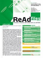 ReAd files - Numero 1 - 2009