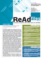 ReAd files - Numero 1 - 2011